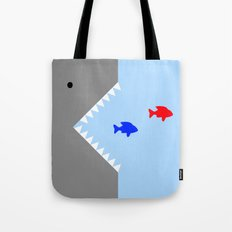 JAWS! Tote Bag