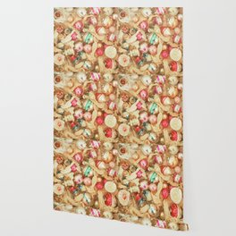 Box of Baubles Wallpaper