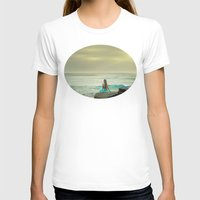 little mermaid T-shirts featuring Little Mermaid by Kim Bajorek