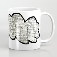 math Mugs featuring Math notes by waspdynamics