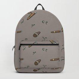 Smoky cigar pattern Backpack