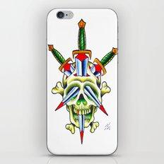 Skull & Dagger iPhone & iPod Skin