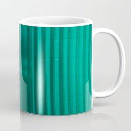 bathroom glass and subway tile Coffee Mug