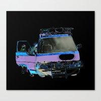van Canvas Prints featuring Van by elisecgilbert