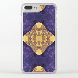 Fabienne Recto Clear iPhone Case