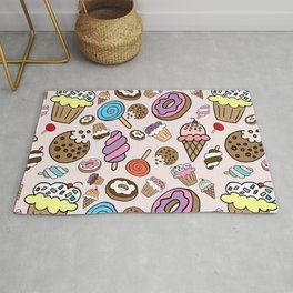 Desserts and Sweets Rug