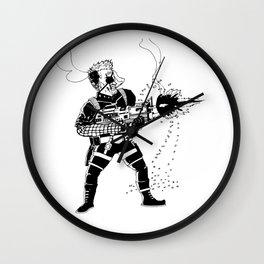 Shoot 'Em Up Wall Clock
