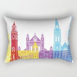 Belfast skyline pop Rectangular Pillow