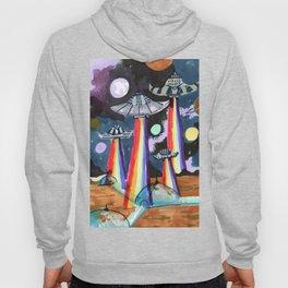 rainbow ufo Hoody