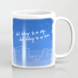 Hurricane Lyrics Coffee Mug