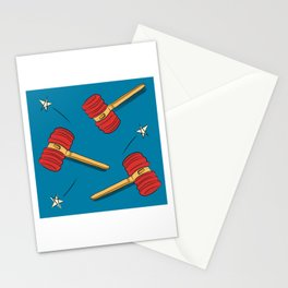 Toy Hammer Stationery Cards