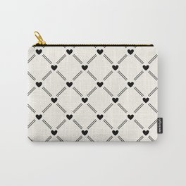Stitched Hearts Carry-All Pouch