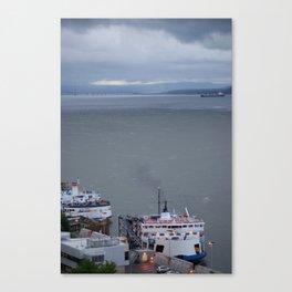 Port de Québec Canvas Print