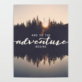 And So the Adventure Begins II Poster