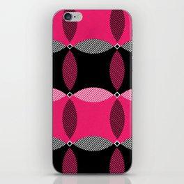 Pink & Black iPhone Skin