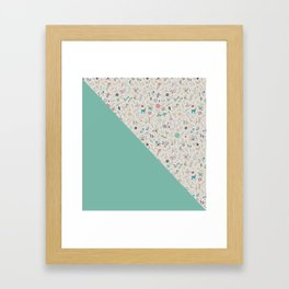 Pez Otomi mint by Ana Kane Framed Art Print