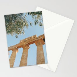 The Ancient Agrigento Temple Stationery Cards