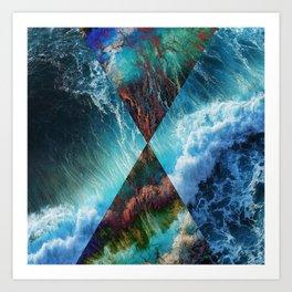 Elements : Water  Art Print