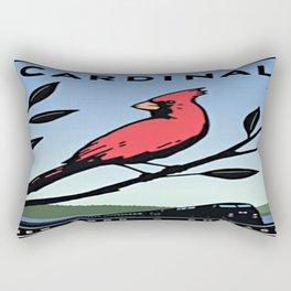 Vintage poster - Cardinal Rectangular Pillow