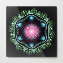 Mandala Julian Metal Print