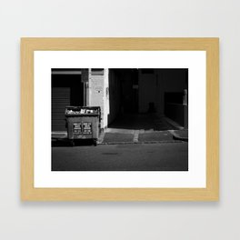 Waste not. (Berkeley Street, 2011) Framed Art Print