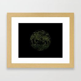 Unearthed Lines Framed Art Print