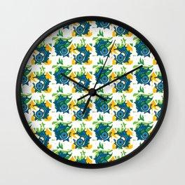 Geo Eyes Wall Clock