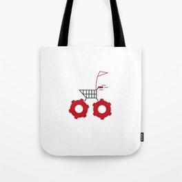 trolly Tote Bag