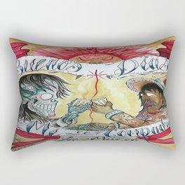 Good morning Death . Rectangular Pillow