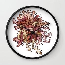 Pyschsplash Autumn Wall Clock
