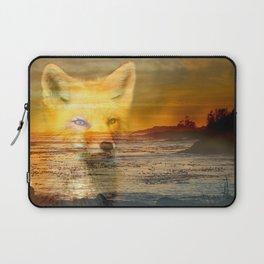 Sunset Fox Laptop Sleeve