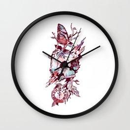 Mors et Natura 2.0 Wall Clock