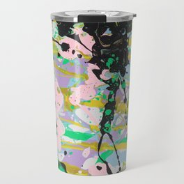 Pastel Abstract Travel Mug