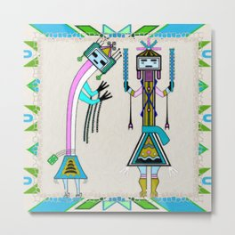 Ceremonial Native American Metal Print