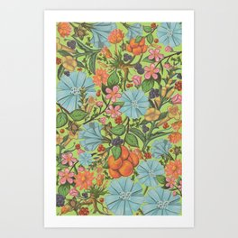Fruity Beauty Art Print