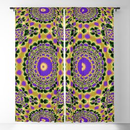 Natty - Bulging out N of Alphabet collection Blackout Curtain