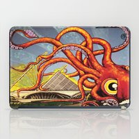 milwaukee iPad Cases featuring MILWAUKEE: What's Kraken, Milwaukee? by Amanda Iglinski