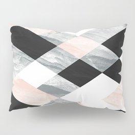 Pastel Scheme Geometry Pillow Sham