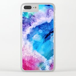 Intergalactic Bliss Clear iPhone Case