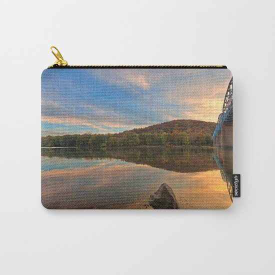 Point of Rocks Sunset Carry-All Pouch