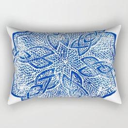 knitwork iii Rectangular Pillow