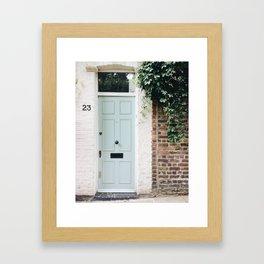 English Entryway Framed Art Print