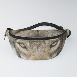 The intensity of the timber wolf Fanny Pack
