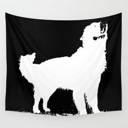 Super dog Wall Tapestry