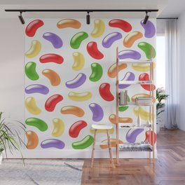 Jelly Beans Design Wall Mural