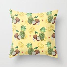 pina colada Throw Pillow