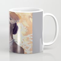 cancer Mugs featuring Cancer by Artist Andrea