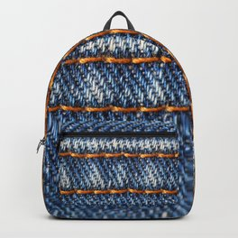 Jeans horizontally Backpack