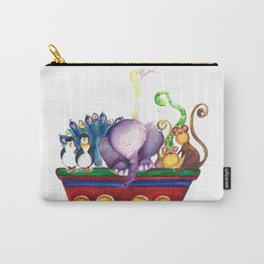 Animals wagon Carry-All Pouch