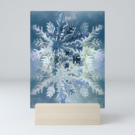 Winter Flakes Mini Art Print
